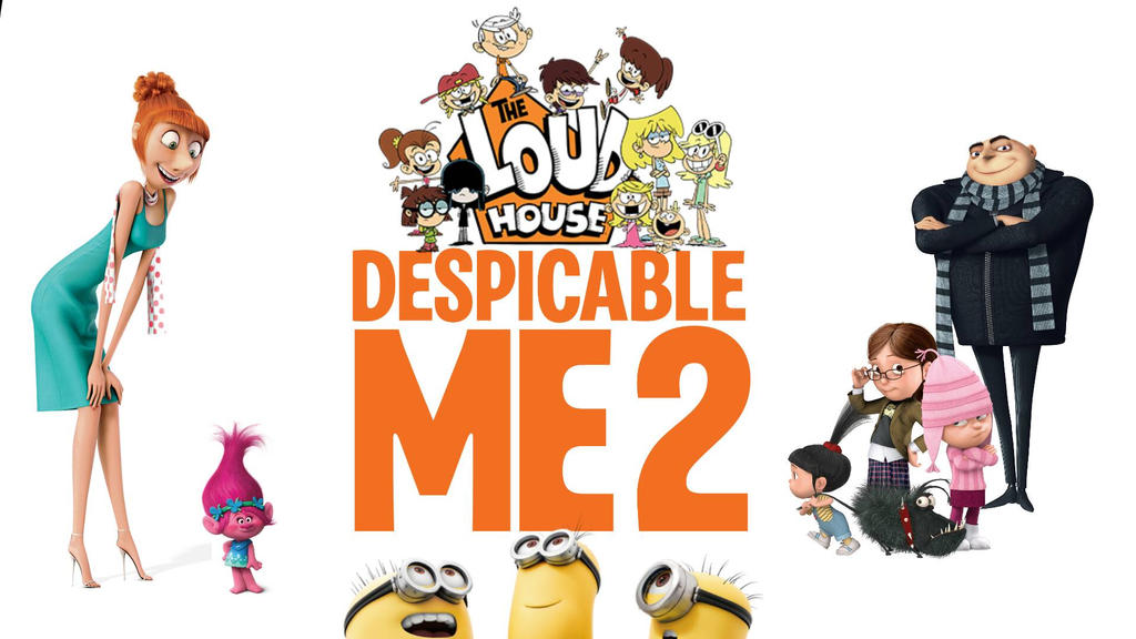 The Loud House in Despicable Me 2 by Dimensions101 ...