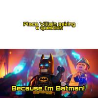 Batman beats meme by Dimensions101