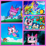 Unikitty! collage
