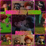 Dennis and Winnie collage