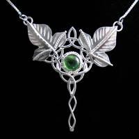 Celtic Ivy Leaf Pendant by camias