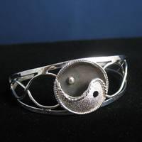 Yin Yang Bracelet Cuff by camias