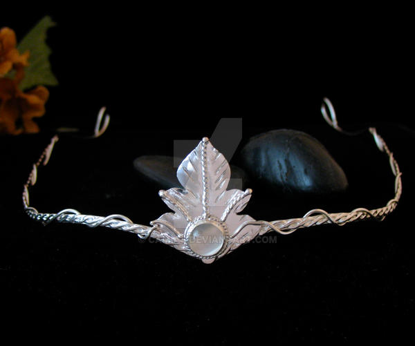 Rustic Leaf Circlet by camias