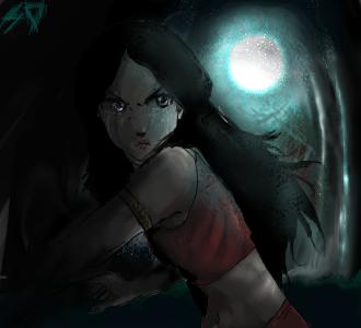 My Moon by SilverX2Shadow