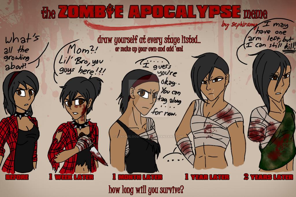 Zombie Apocalypse Meme Funny : Zombie apocalypse meme by blackblood queen on deviantart