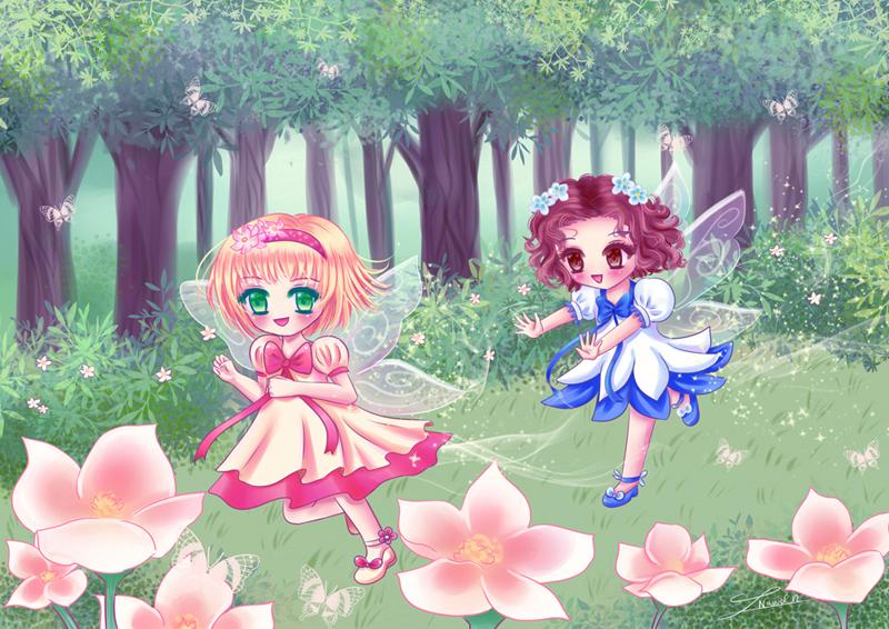 The little fairies!!