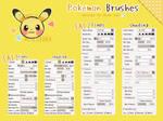 Pokemon Brush Settings For Easy Paint Tool SAI