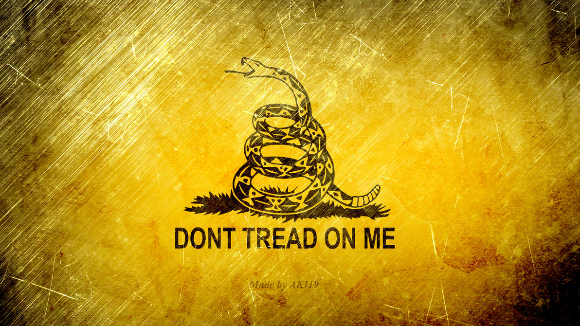 DONT TREAD ON ME Wallpaper By Ak119