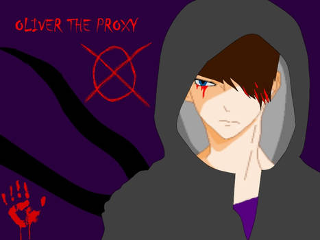 Oliver The Proxy (digital version with hoodie on)