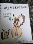 Mimikyu Jade by Oliverthedragonlord