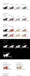 Dragon Colour Genes by RainFreckles