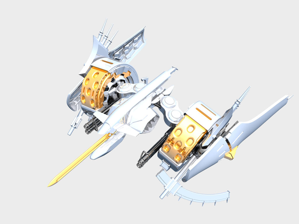 Ikaruga Final Release Position by Babywolf2918