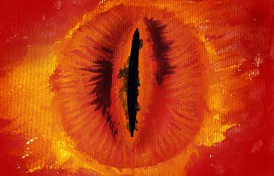 Sauron by HinoSherloki