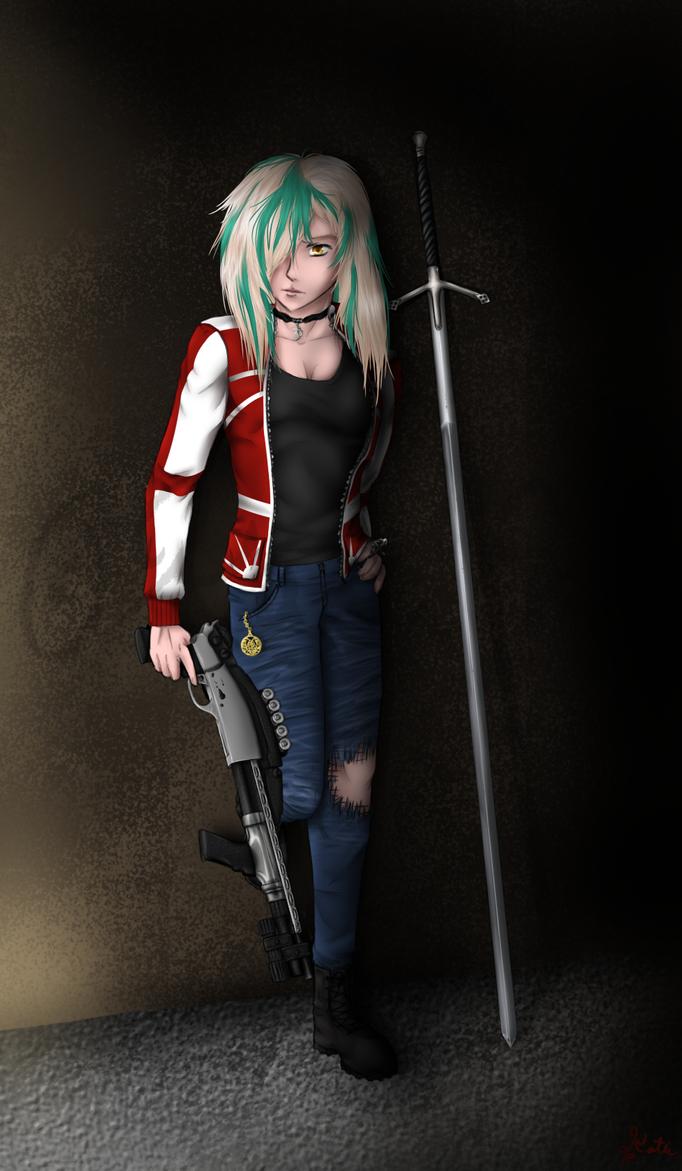 COM: Ebony the Hunter by ArtProducer95
