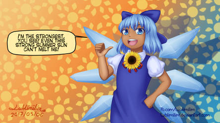 Tan Cirno-tan by Lublimilim