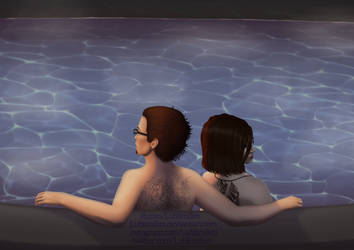 GTA Online - Chillin' in a Hot Tub