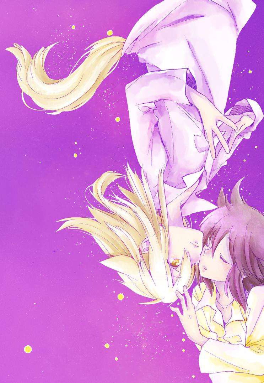 Soubi and Ritsuka by LeLapinAgile