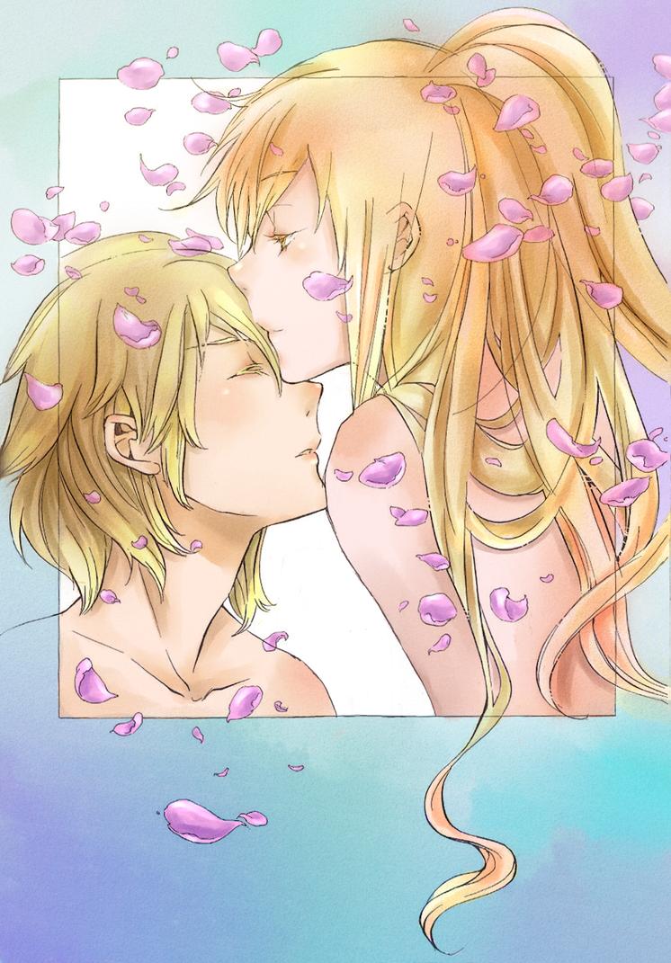Mikado and Tokino by LeLapinAgile
