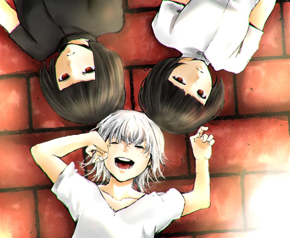 Suzuya Juuzou, Kurona and Nashiro by LeLapinAgile