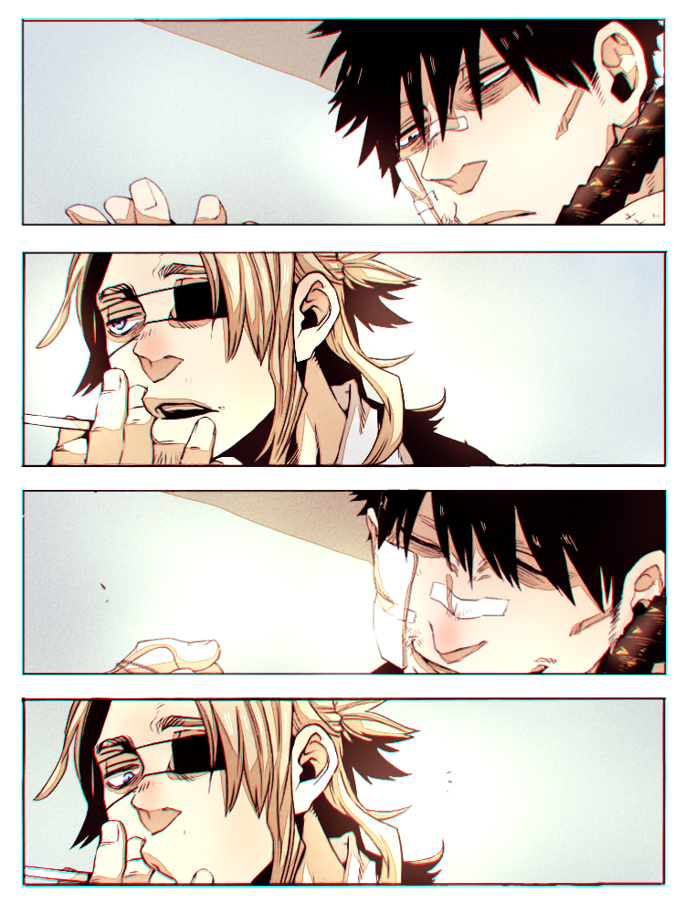 Worick and Nicolas by LeLapinAgile
