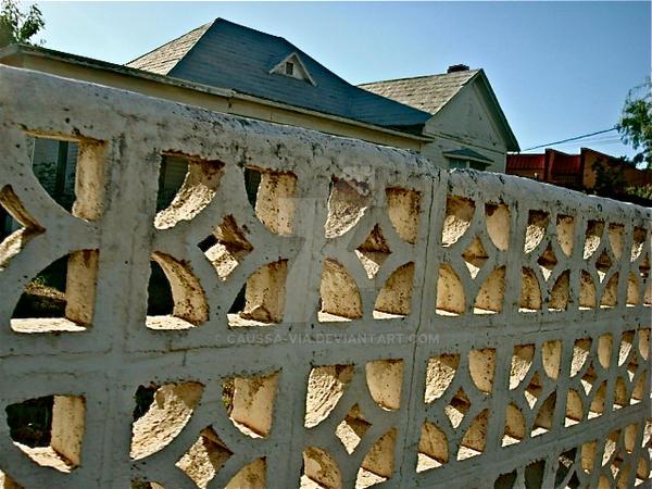 fenced by caussa-via