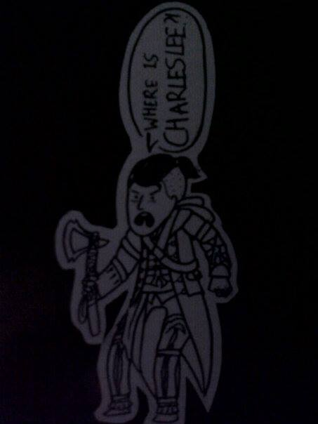 Where is Charles Lee bookmark (WIP) by AngelCat180799