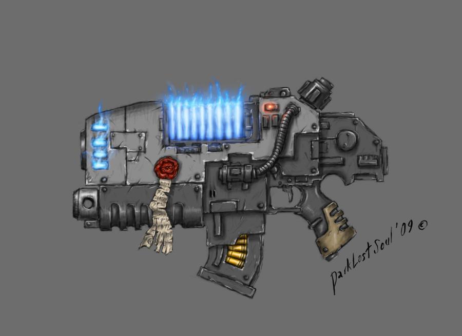 Combiplasma bolter by DarkLostSoul86
