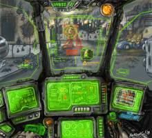Mech cockpit by DarkLostSoul86