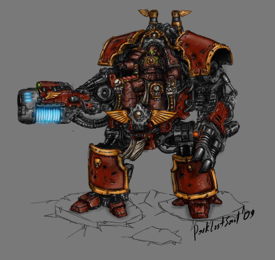 Techmarine Lord by DarkLostSoul86