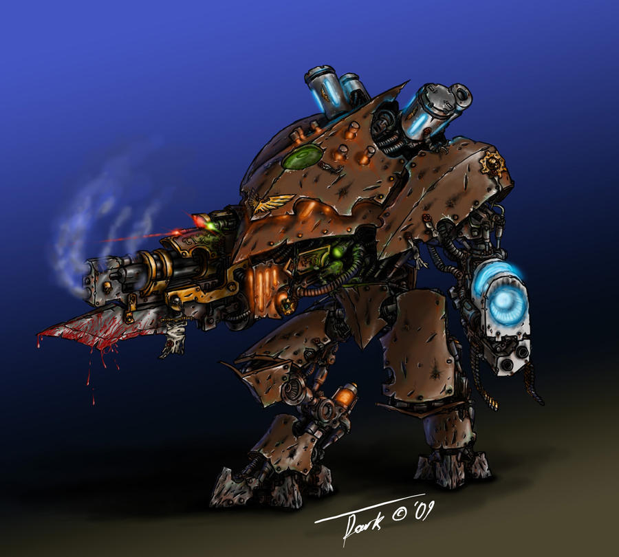 War Servitor concept colored by DarkLostSoul86