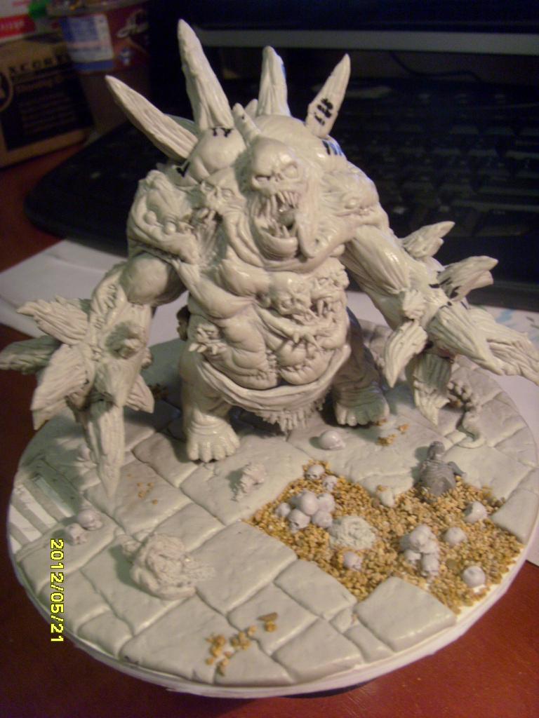 Diablo 3 Unburied miniature by DarkLostSoul86
