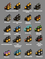 Various Bolt ammo #1 by DarkLostSoul86
