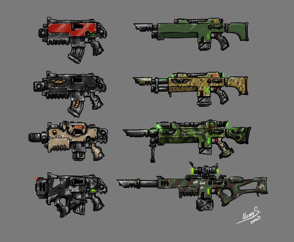 Weaponry 2 by DarkLostSoul86