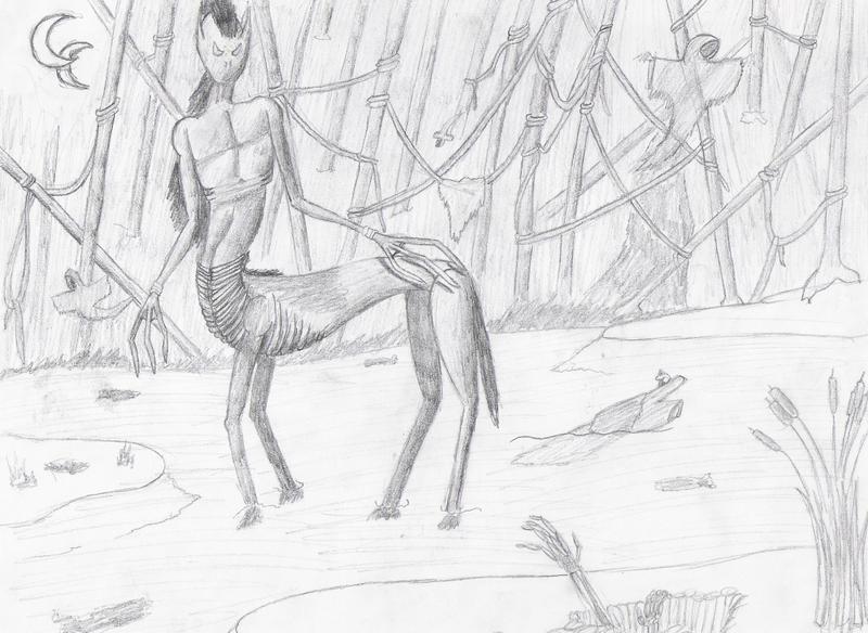 Swamp Slythus by ShadowDragon91