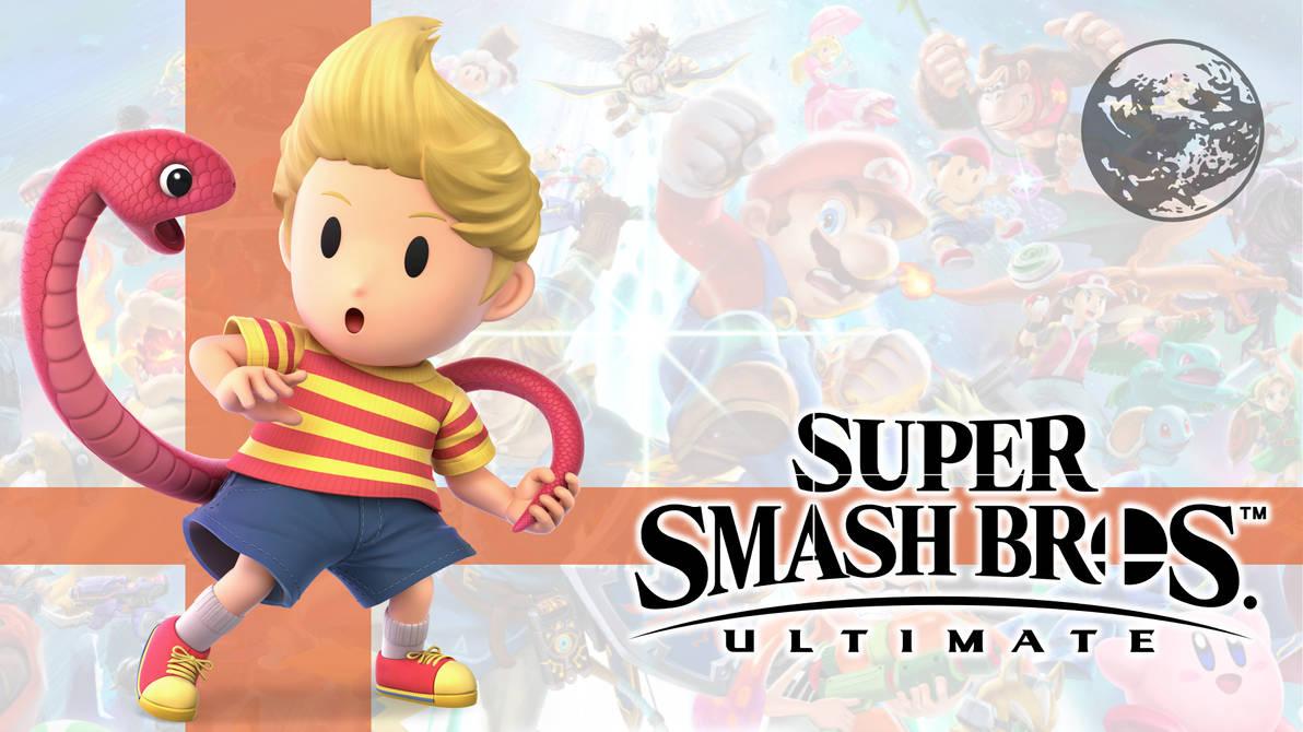 Super Smash Bros  Ultimate: 37  Lucas by Samcraft10 on
