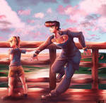Josuke and Jolyne