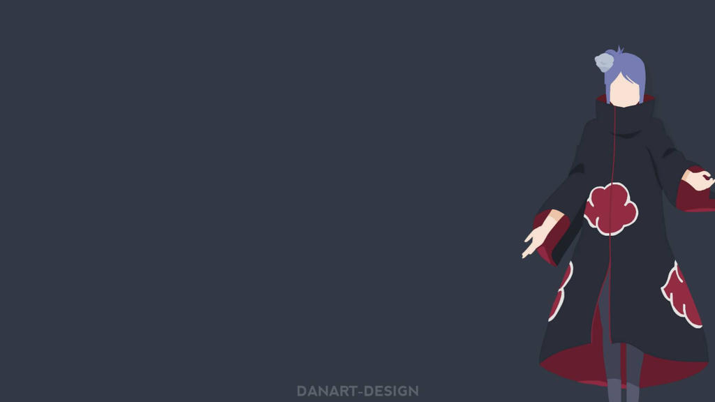 Konan Akatsuki Wallpaper by Danart-Design on DeviantArt