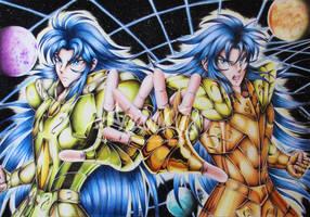 Happy Birthday Gemini Saga and Kanon!
