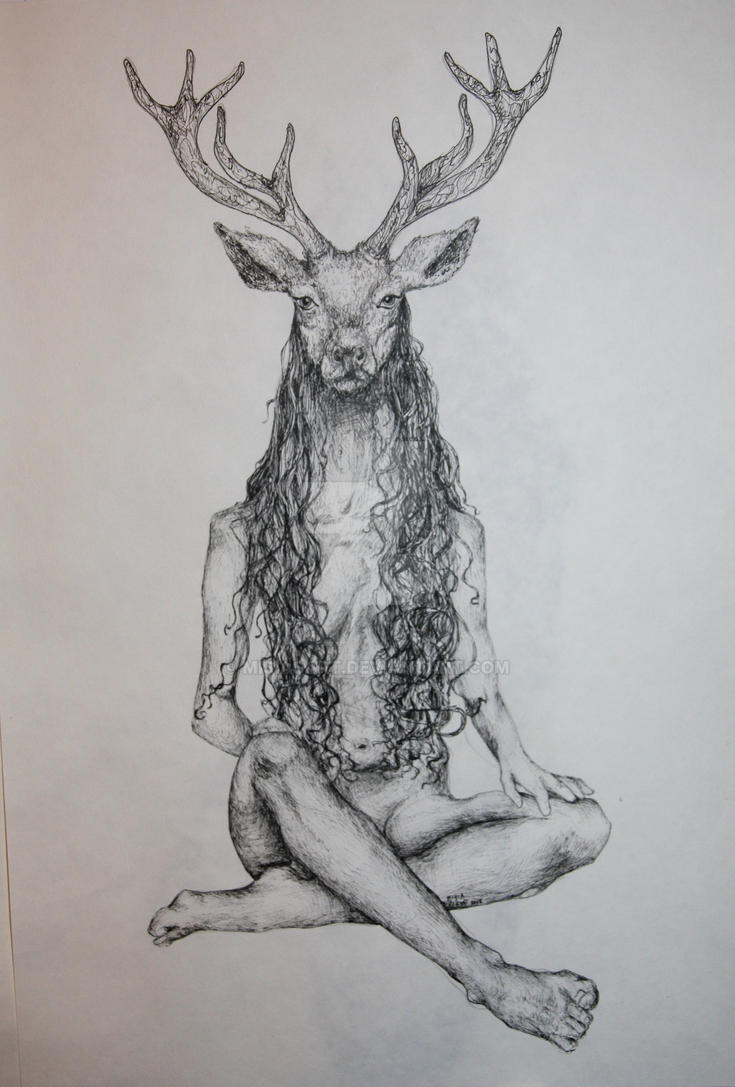 The Deer Woman by MisiasArt