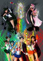 Sailor Moon R Fanart by Ewellclay