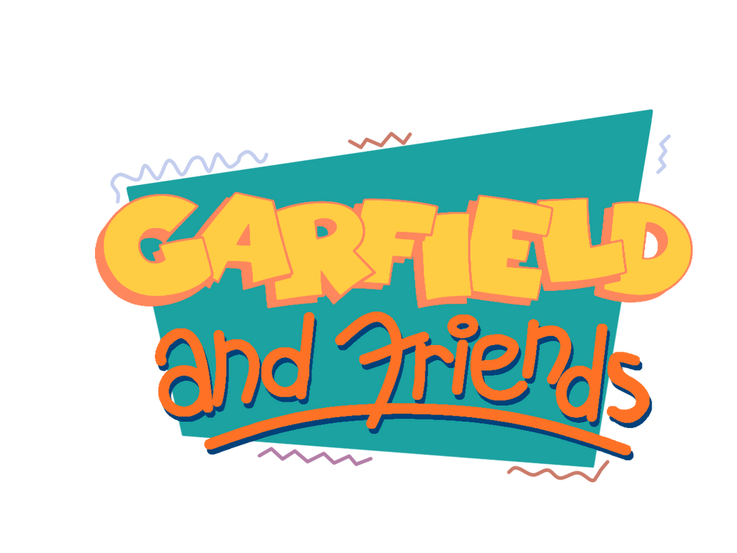 Garfield And Friends Original Logo By Toon1990 On Deviantart