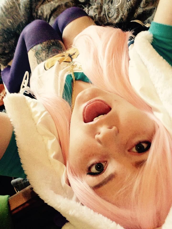 Super Sonico cosplay!!! by neckanome4