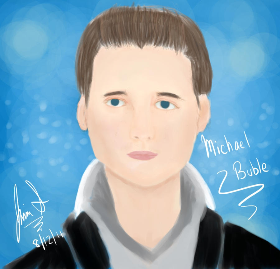 try at Michael Buble by HinaSoul