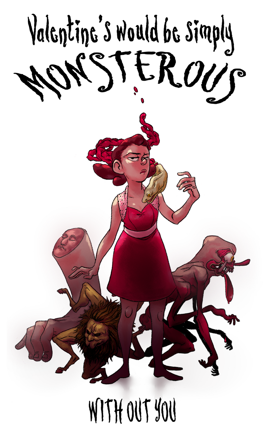 Monstrous Valentine by Ironmary