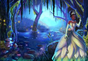 Princess Tiana by Silvercresent11