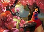 Mulan being Asian