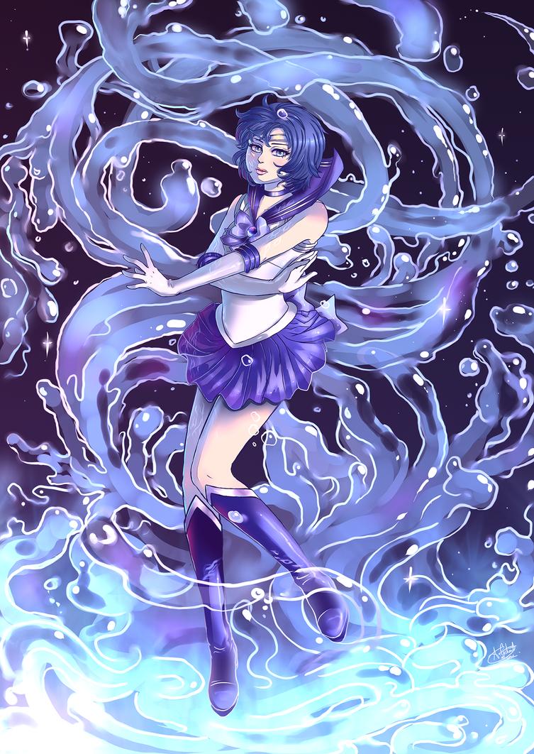 Sailor Scout Series: Sailor Mercury by Silvercresent11