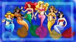 Disney Princesses :RECOLOURED: