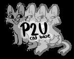 P2U Cat Lineart / Base