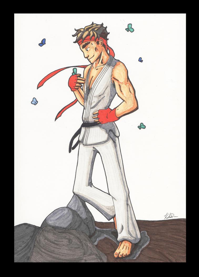 Ryu from Street Fighter by KFutterwacken